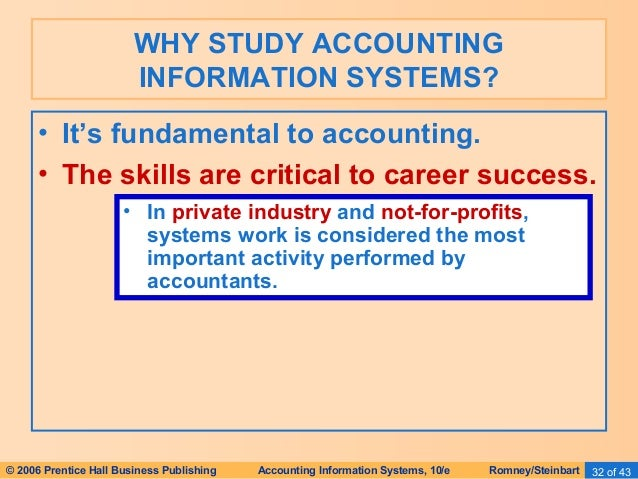 a study on accounting systems of An accounting information system (ais) is the system of records a business keeps to maintain its accounting system this includes the purchase, sales, and other financial processes of the business.