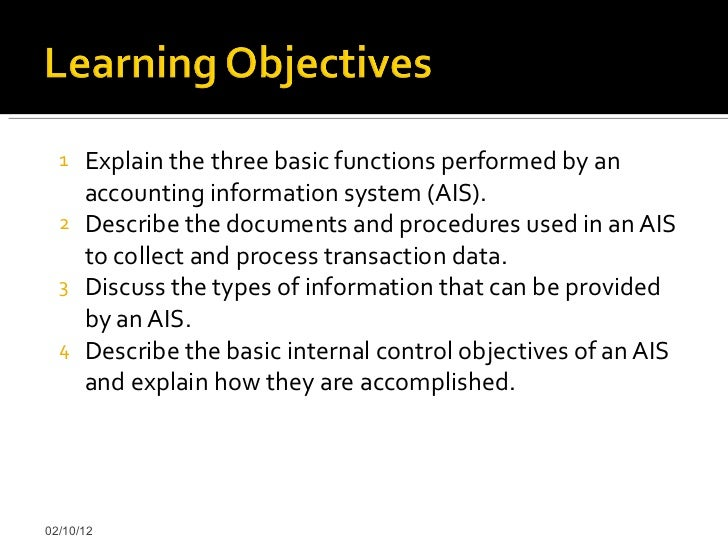 types of accounting information systems pdf