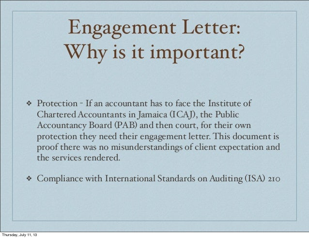 Image Result For Accountants En Ement Letters