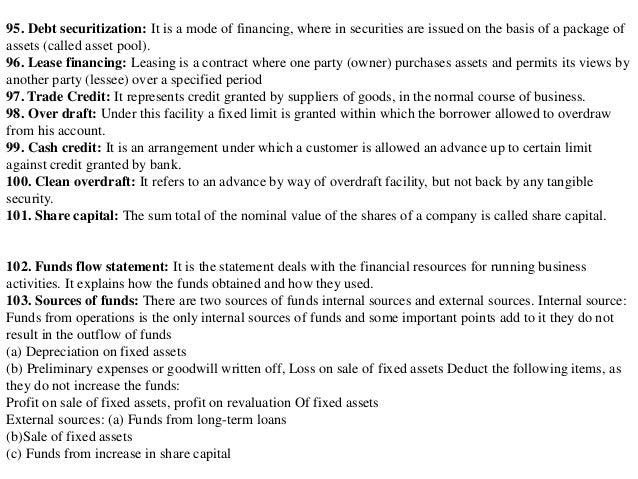 the term commercial paper refers to loans Financial terms a | b | c | d these include receivables, treasury bills, short-term commercial paper and short-term government and corporate bonds and notes closed-end funds: a fund the date on which a loan or bond or debenture comes due and must be redeemed or paid off.