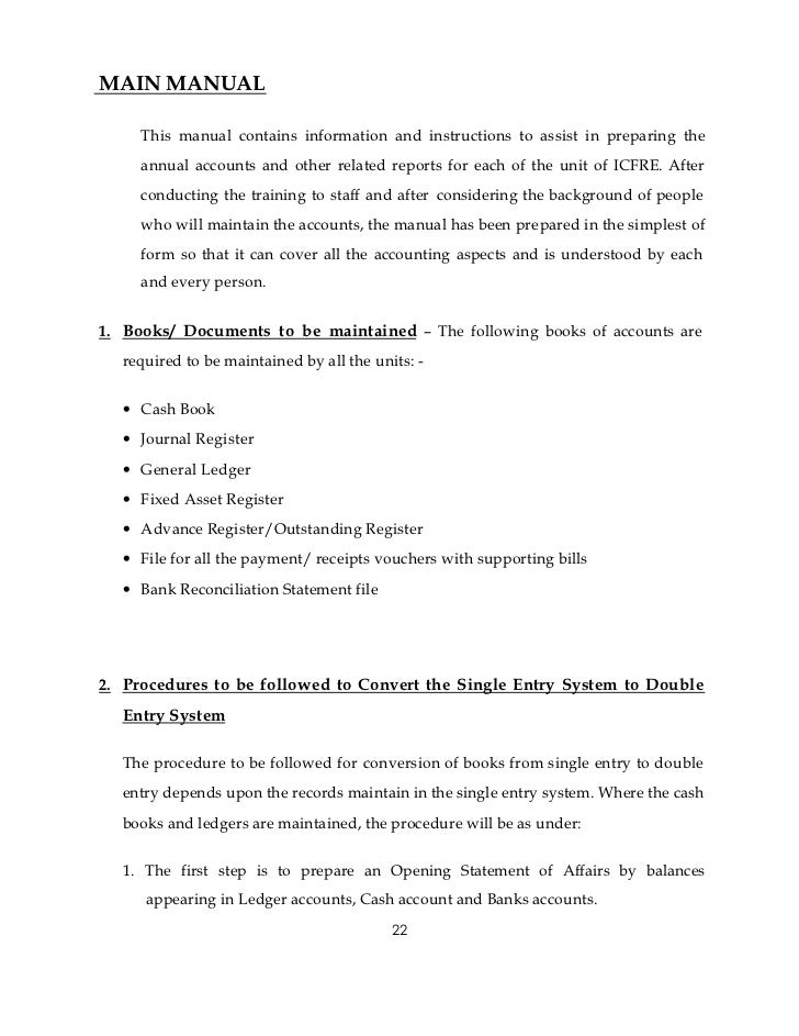 Accounting Manual Template. Policy Manual Template Accounting ...