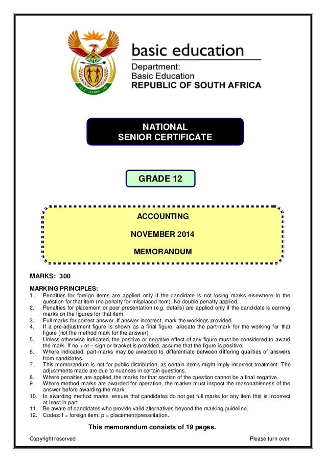 2012 preparatory exam memorandum business studies