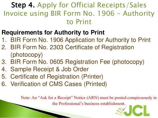 BIR Registration Process for Professionals-Simplified | Accounting BP…
