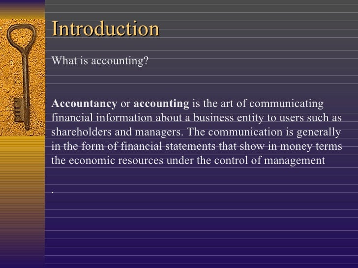 accounting presentation In this study, we study the independent and joint effects of the accounting presentation format of, and the level of announcement prominence given to.
