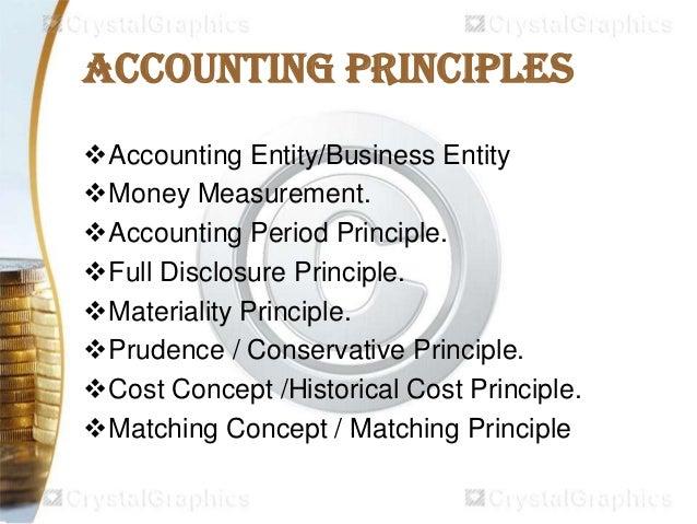 principal accounting