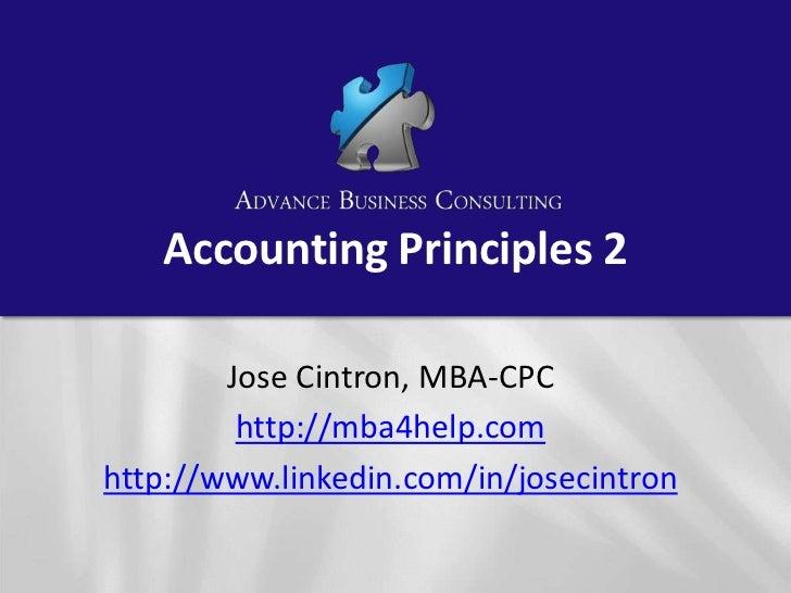 accounting principles kiso