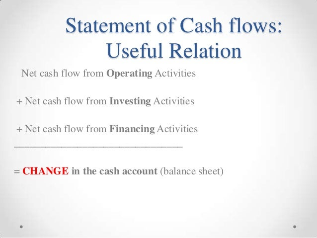 cash flow statement study resources