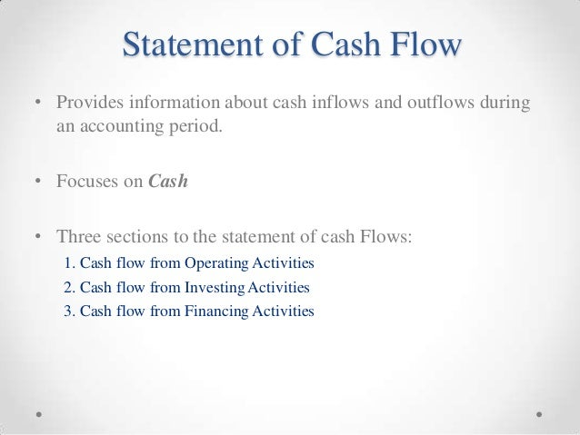 cash flow statement project analysis coursework academic writing