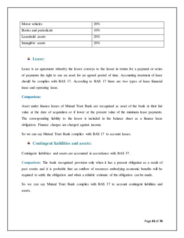 report on trust bank Others who co-operate me to complete my internship report  trust bank ltd  and chapter five contains ratio analysis and frequency analysis.