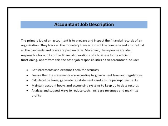 Tax accountant resume cover letter