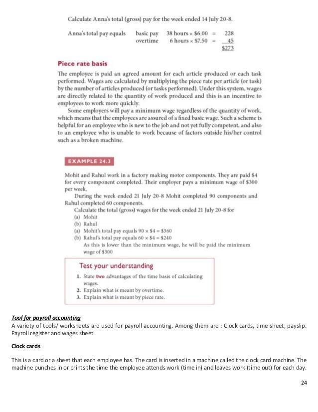 Accounting short notes