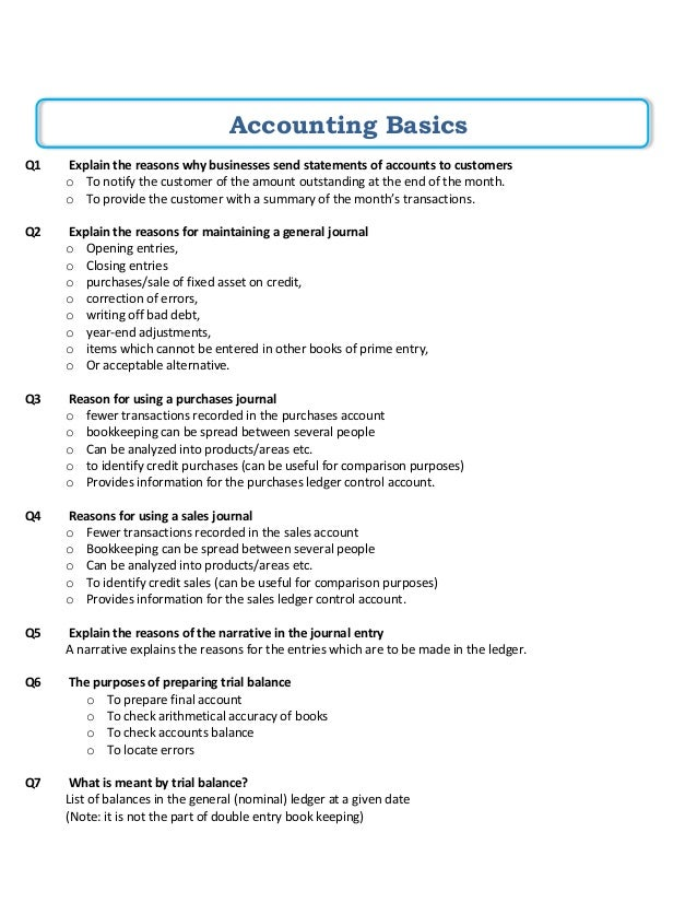 accounting notes As-level accounting topics each of the six accounts topic sections contains revision notes for the cie accounting (9706) examination.