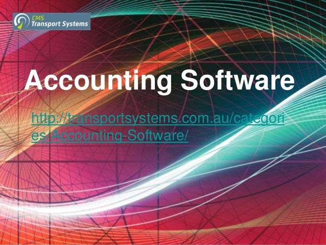Accounting Software For All Your Financial Transactions