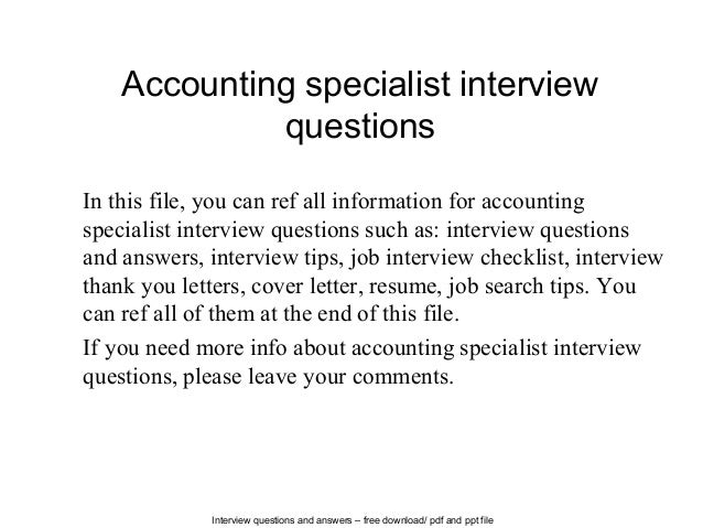 Thank You Letter After Accounts Payable Interview Example