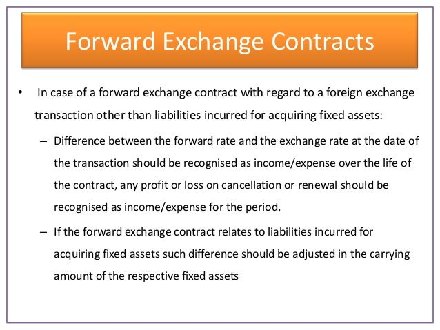 Contract for difference forward
