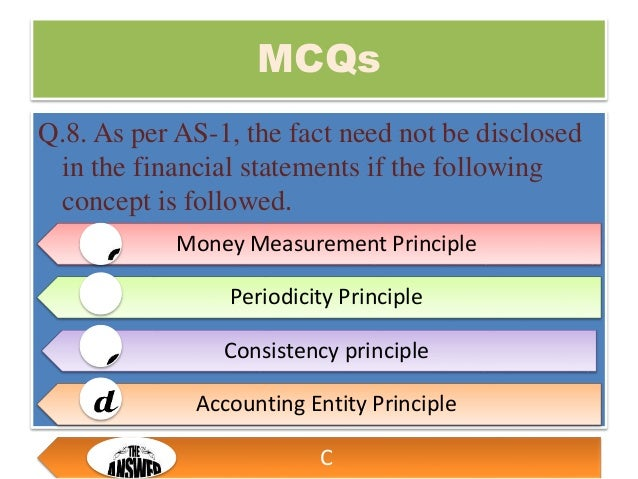 Accounting Entity Principle