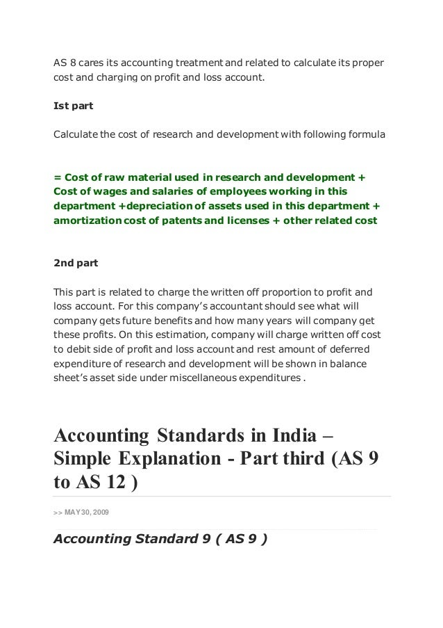 accounting treatment of research and development Accounting for software development costs accounting for software development costs  then you should consider whether the company has taken on any research and development there is quite a high bar on software claims being part of a research and development tax relief claim, but i would be happy to discuss these with you and your directors.