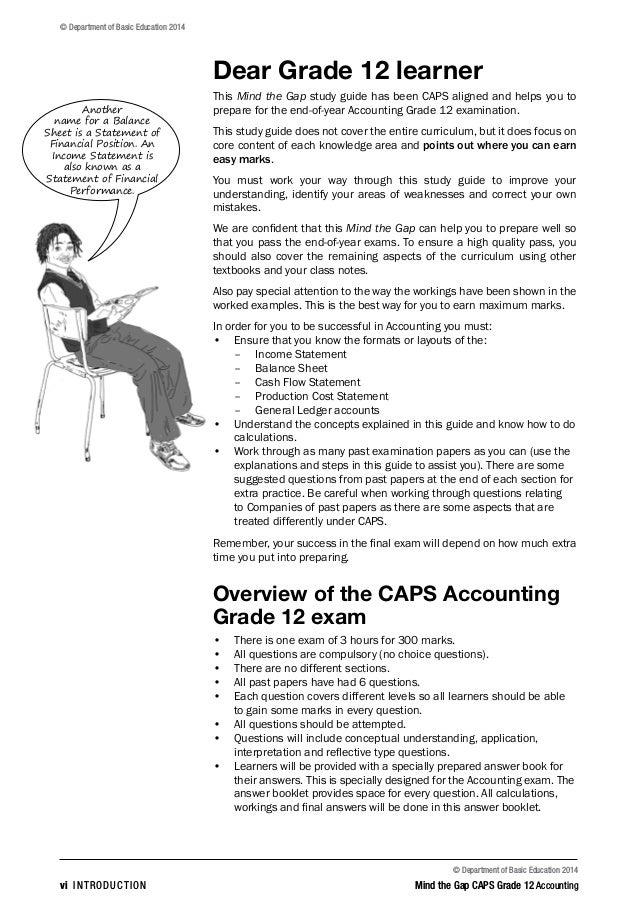 accounting study guide grade 12 rh slideshare net new era grade 12 accounting study guide grade 12 caps accounting study guide