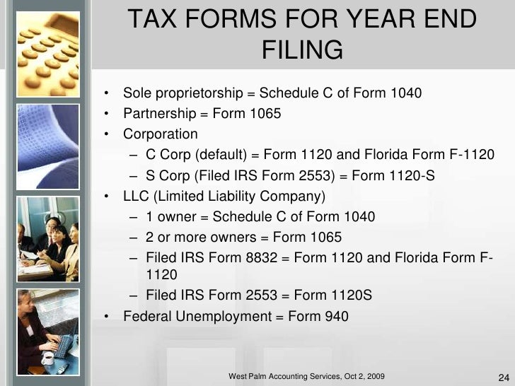 Accounting & Taxes For Small Business Presentation