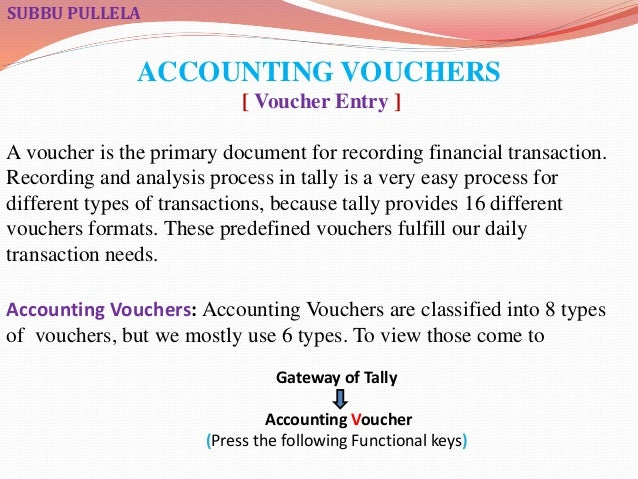 Accounting vouchesrs in tally accounting vouchers altavistaventures Image collections