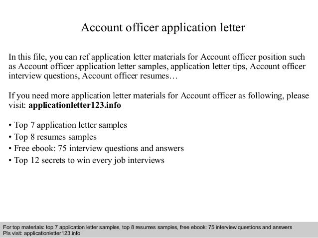 Account officer application letter 1 638gcb1410924628 account officer application letter in this file you can ref application letter materials for account application letter sample spiritdancerdesigns Image collections