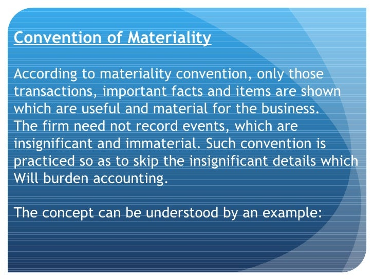 accounting concept and convention Accounting concepts and conventions are a set of standard methodologies, guidelines and procedures when preparing financial statements, thereby ensure that accounting information is prepared in a manner which is consistent, true, fair and accurate.