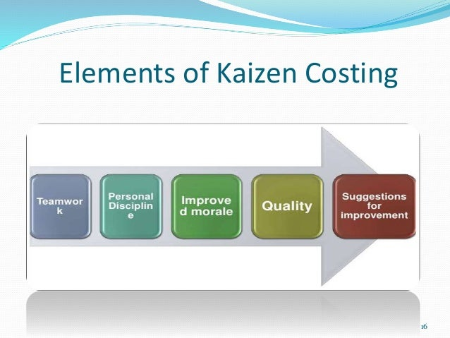 advantages of kaizen costing A hybrid costing system is a cost accounting system that includes features of both a job costing and process costing system a.