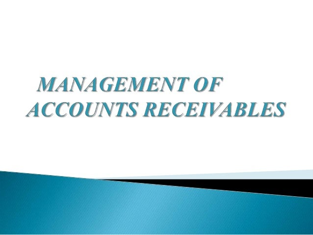 receivables management Carmen saylor is the founder of sierra receivables management, inc, a collection agency established in 1985 in redding, ca her vision was to establish a locally.