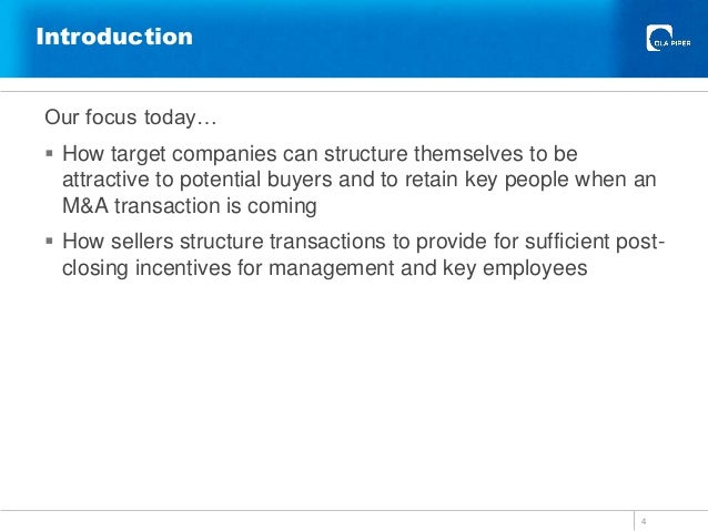 M&a deals resume