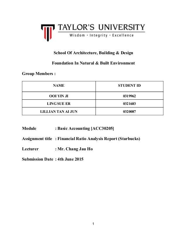 SchoolOfArchitecture,Building&Design FoundationInNatural&BuiltEnvironment GroupMembers: NAME STUDENT...