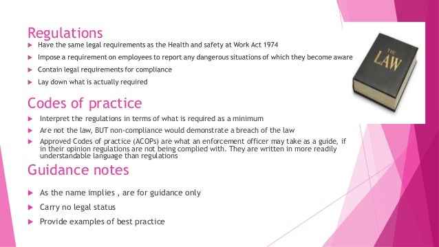 implication of non compliance with health and safety legislation The health and safety at work etc act 1974 march 19, 2010 / 0 comments / in health and safety / by risk revolution the health and safety at work etc act 1974.
