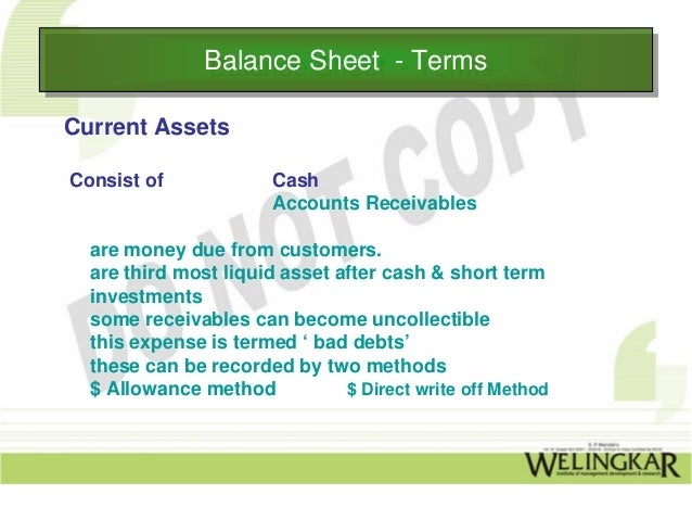 """asset not recorded balance sheet marketing essay Deloitte shall not be responsible for any loss sustained by any person who relies   312 held-for-sale classification for long-lived assets to be  51 balance  sheet presentation for discontinued operations  if a """"summary of  be  reported in an entity's financial statements as a discontinued operation."""