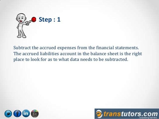 accrual to cash basis conversion