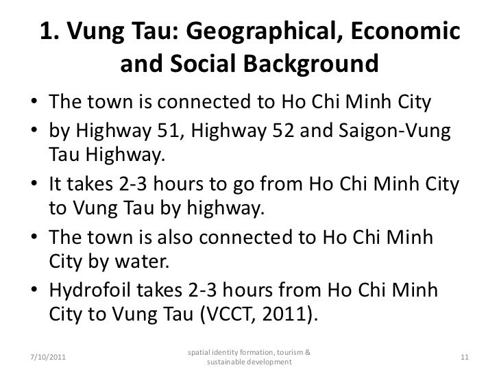 Vung Tau: Spatial Identity Formation, Tourism and