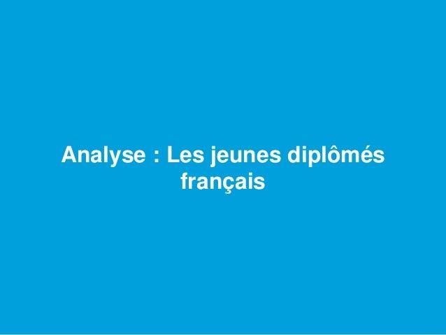 Analyse : Les jeunes diplômés français