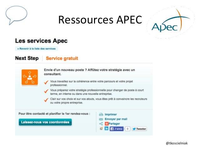 @tkoscielniak   Ressources  APEC