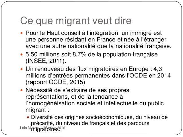 Lecture publique et immigration(s) Slide 2
