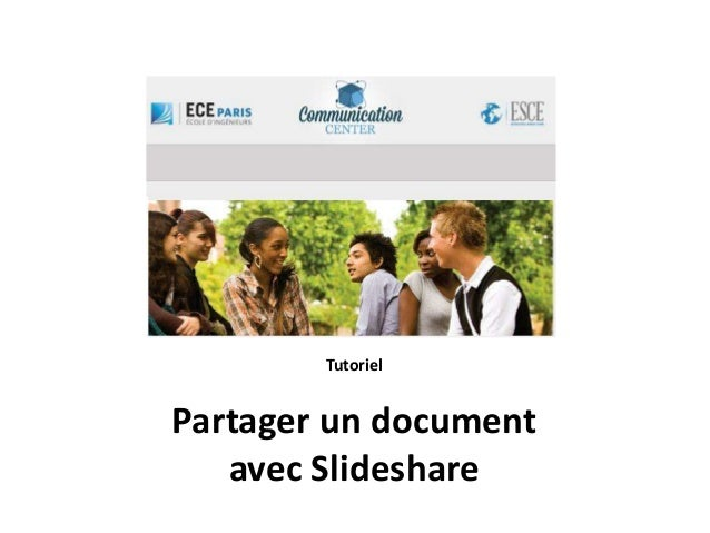 Tutoriel Partager un document avec Slideshare