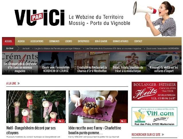 Vu par ICI - Le Webzine de la Mossig et Porte du Vignoble en Alsace / France : www.vuparici.fr