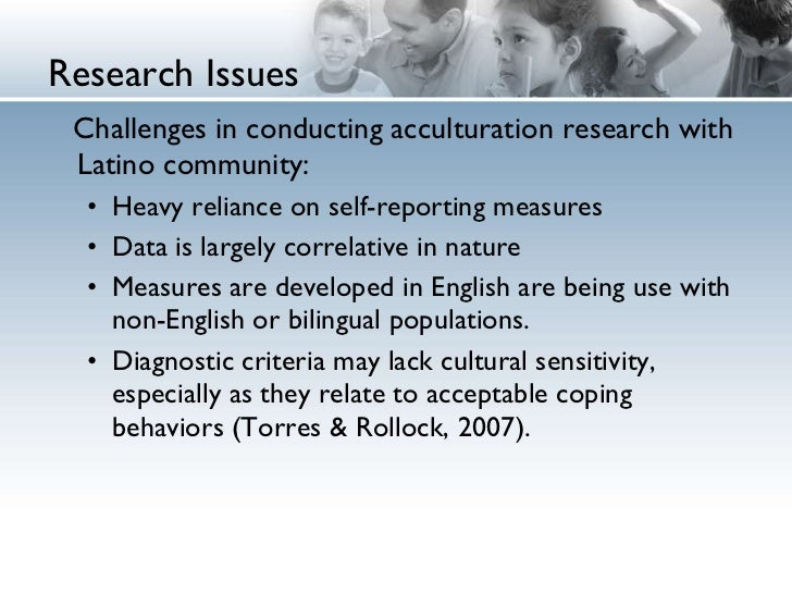 acculturation research
