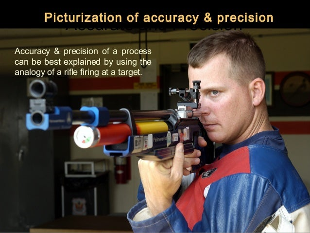 Picturization of accuracy & precision              Accurate and PrecisionAccuracy & precision of a processcan be best expl...
