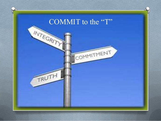 """COMMIT to the """"T"""""""