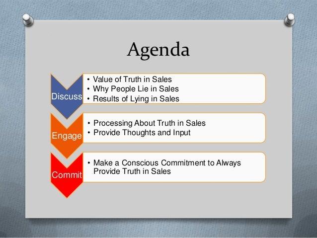 Accuracy in sales Slide 2