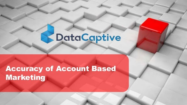 Accuracy of Account Based Marketing