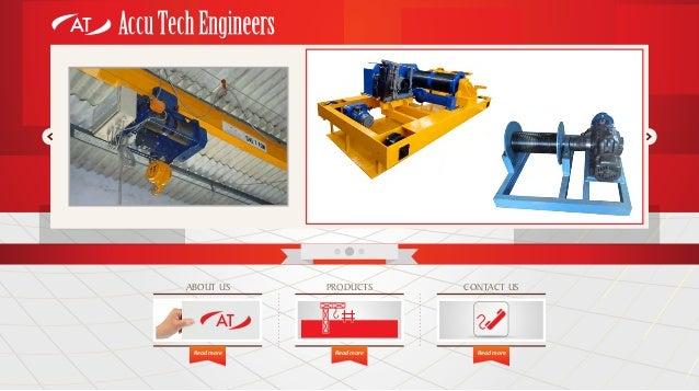 Accu Tech Engineers, Coimbatore, Electrical Hoists Slide 2