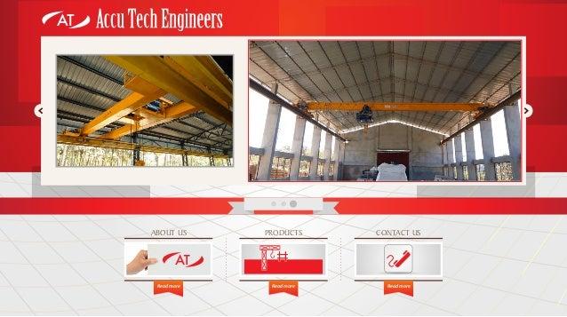 Accu Tech Engineers, Coimbatore, Electrical Hoists Slide 3