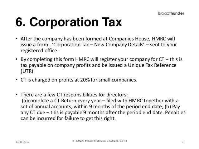 how to set up a limited company hmrc