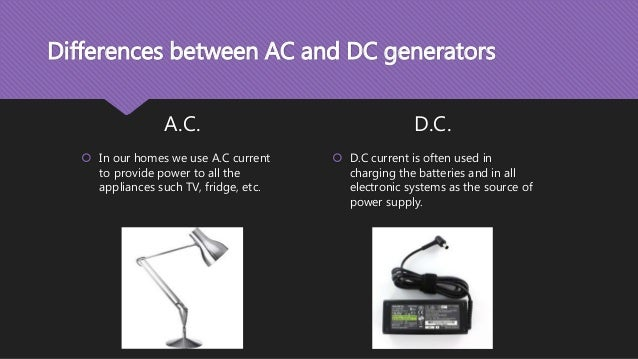 Electricity Difference Between Ac Dc
