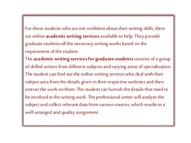 academic writing in english for phd students