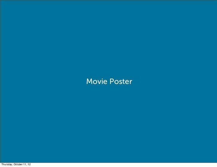 Movie PosterThursday, October 11, 12